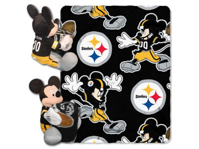 Pittsburgh Steelers Disney Hugger with Throw