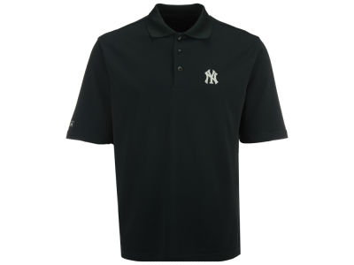 New York Yankees MLB Men's Pique Extra Lite Polo Shirt
