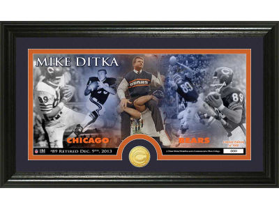 Chicago Bears Ditka Retirement Bronze Coin Pano Mint