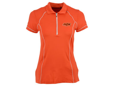 Oklahoma State Cowboys NCAA Womens Quarter Zip Polo