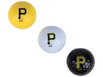 Pittsburgh Pirates 3-pack Golf Ball Set