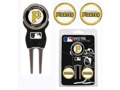 Pittsburgh Pirates Divot Tool and Markers