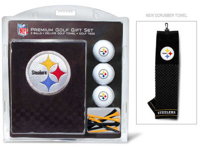 Pittsburgh Steelers Golf Towel Gift Set