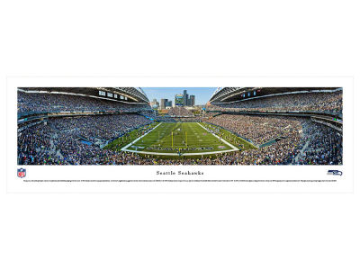 Seattle Seahawks Panoramic Unframed