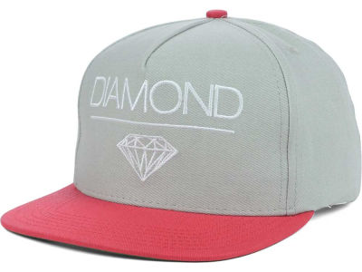 Diamond Whitespace Snapback Cap