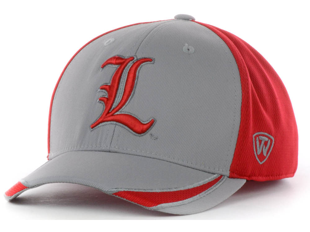 Louisville Cardinals Top of the World NCAA Sifter Memory Fit Cap ... ce740ad4d17
