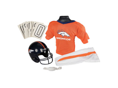 Denver Broncos Deluxe Team Uniform Set