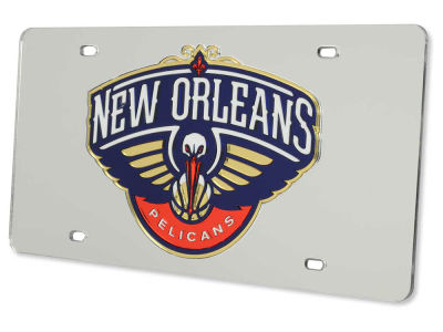 New Orleans Pelicans Acrylic Laser Tag