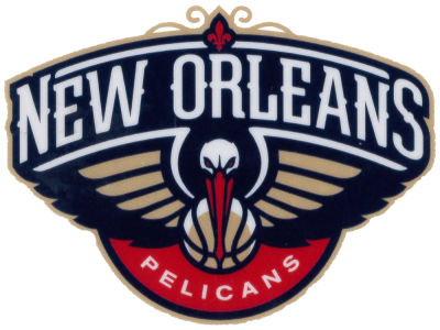 New Orleans Pelicans Static Cling Decal