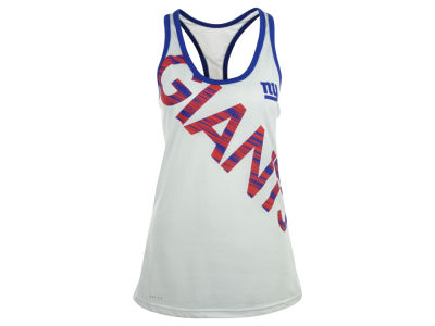 New York Giants Nike NFL Womens Warp Tank