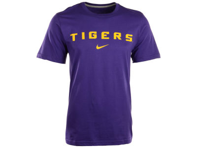 LSU Tigers Nike NCAA Wordmark Cotton T-Shirt