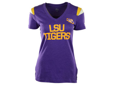 LSU Tigers Nike NCAA Women's Fan V-Neck T-Shirt