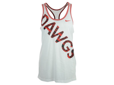 Georgia Bulldogs Nike NCAA Womens Warp Dri-Blend Tank