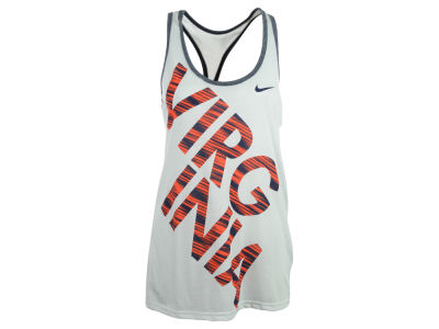 Virginia Cavaliers Nike NCAA Womens Warp Dri-Blend Tank