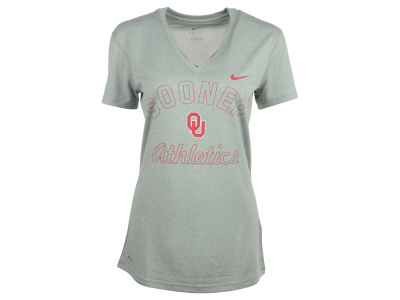 Oklahoma Sooners Nike NCAA Ladies Logo Legend VNeck T-Shirt
