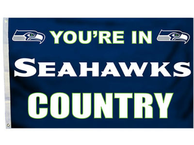 Seattle Seahawks House Flag 3x5