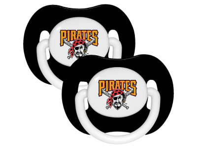 Pittsburgh Pirates 2-pack Pacifier Set
