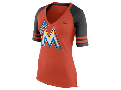 Miami Marlins Nike MLB Women's Logo Fan Shirt