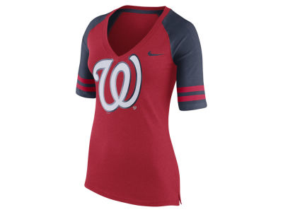 Washington Nationals Nike MLB Women's Logo Fan Shirt