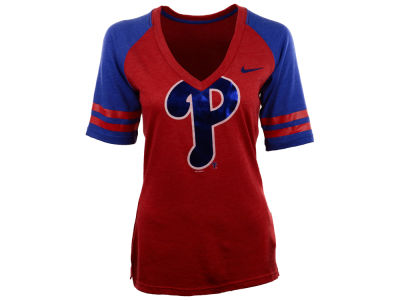 Philadelphia Phillies Nike MLB Women's Logo Fan Shirt