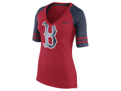 Boston Red Sox Nike MLB Women's Logo Fan Shirt