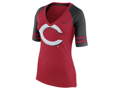 Cincinnati Reds Nike MLB Women's Logo Fan Shirt