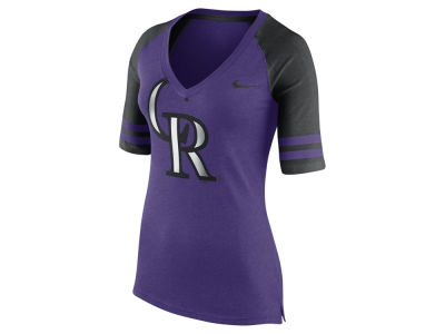 Colorado Rockies Nike MLB Women's Logo Fan Shirt