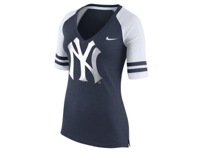 New York Yankees Nike MLB Women's Logo Fan Top T-Shirt
