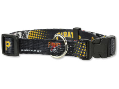 Pittsburgh Pirates Medium Dog Collar