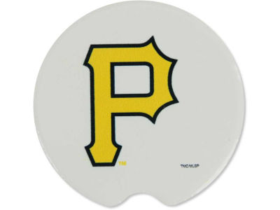 Pittsburgh Pirates 2 Pack Car Coasters