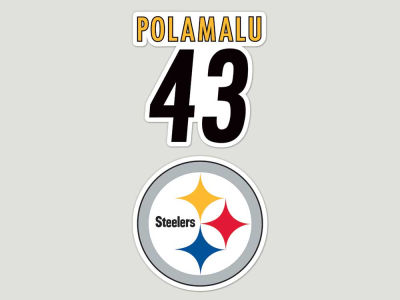 Pittsburgh Steelers 2-pack 4x4 Die Cut Decal