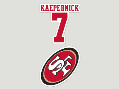 San Francisco 49ers 2-pack 4x4 Die Cut Decal