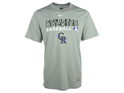 Colorado Rockies Nike MLB Men's Authentic Collection Dri-Fit Legend Team Issue T-Shirt
