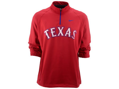 Texas Rangers Nike MLB Men's Shield Hot Corner Jacket