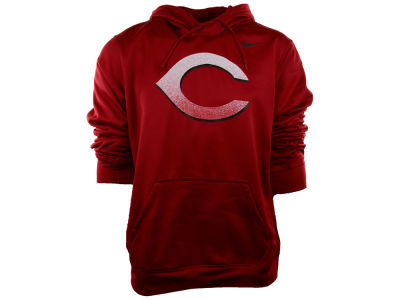 Cincinnati Reds Nike MLB Men's Logo Performance Hoodie 1.4
