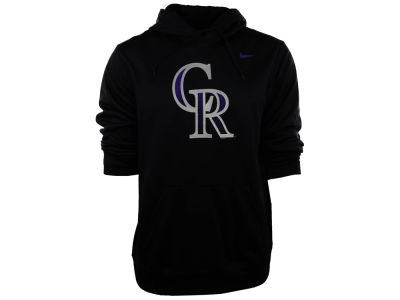 Colorado Rockies Nike MLB Men's Logo Performance Hoodie 1.4