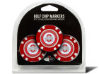 Ohio State Buckeyes Team Golf Golf Poker Chip Markers 3 Pack