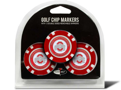 Team Golf Golf Poker Chip Markers 3 Pack