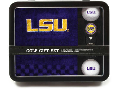 LSU Tigers Golf Towel Gift Set