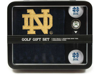 Notre Dame Fighting Irish Golf Towel Gift Set
