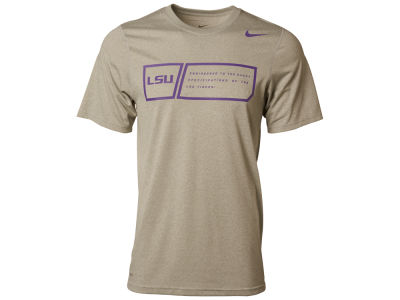 LSU Tigers Nike NCAA Training Day Legend T-Shirt