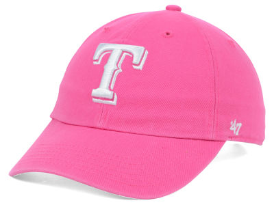 Texas Rangers '47 MLB Womens Clean Up Cap