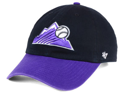 Colorado Rockies '47 MLB Core '47 CLEAN UP Cap