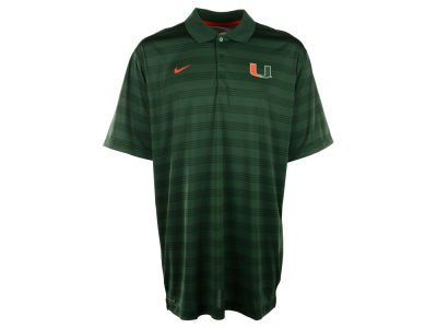 Miami Hurricanes Nike NCAA Men's Preseason Polo Shirt