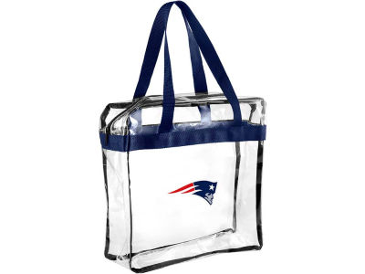 New England Patriots Clear Messenger Bag