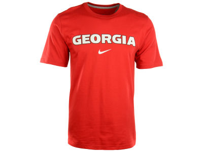Georgia Bulldogs Nike NCAA Wordmark Cotton T-Shirt