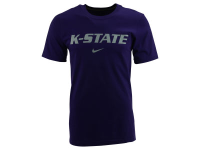 Kansas State Wildcats Nike NCAA Wordmark Cotton T-Shirt