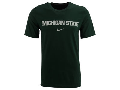 Michigan State Spartans Nike NCAA Wordmark Cotton T-Shirt