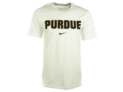 Purdue Boilermakers Nike NCAA Wordmark Cotton T-Shirt