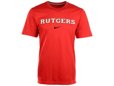 Rutgers Scarlet Knights Nike NCAA Wordmark Cotton T-Shirt